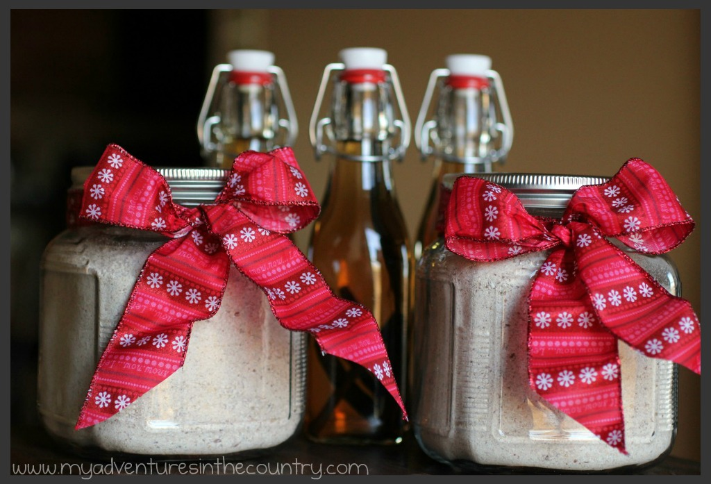 Homemade mixes a 12 days of christmas in the country gift Country christmas gifts to make