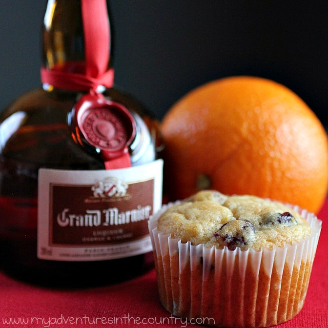 Monday's Mystery Recipe Episode 13: Grand Marnier Cranberry Muffins
