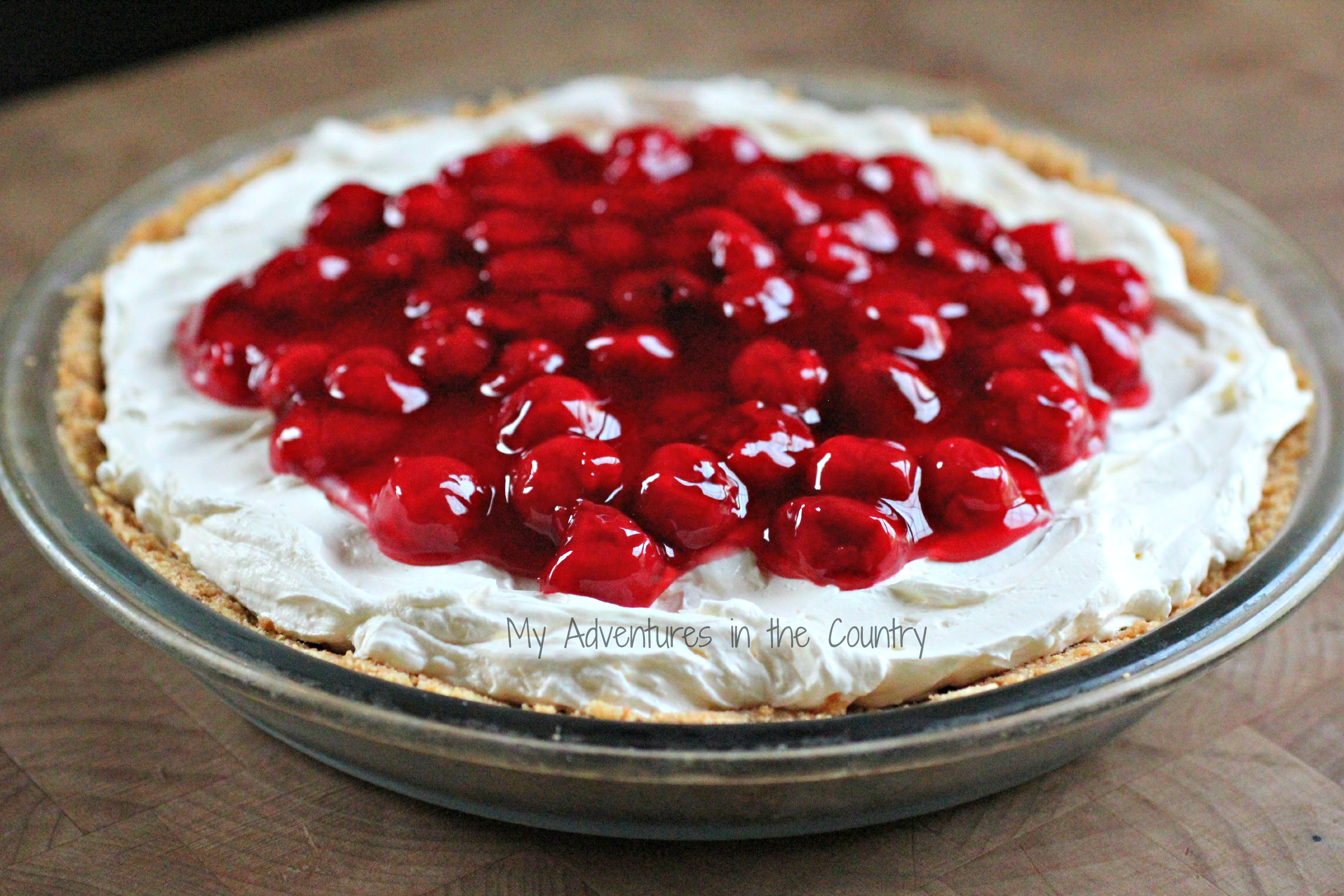 Gram's Easy Cherry Cheesecake