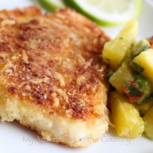 how to cook with panko